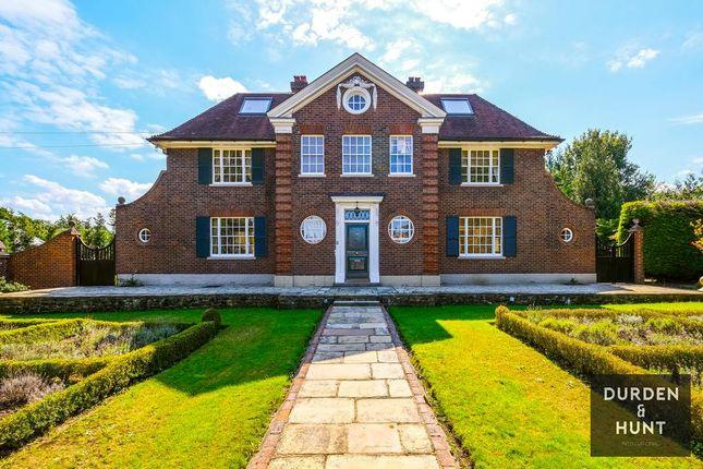 Thumbnail Detached house for sale in Birds Hill Rise, Oxshott, Leatherhead, Surrey