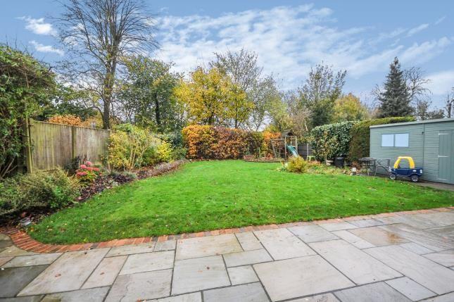 Garden of Witherby Close, South Croydon, Surrey, England CR0