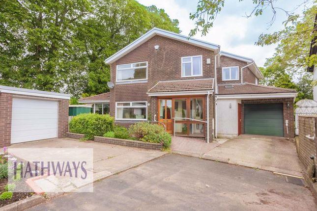 Thumbnail Detached house for sale in Church Farm Close, Bettws, Newport
