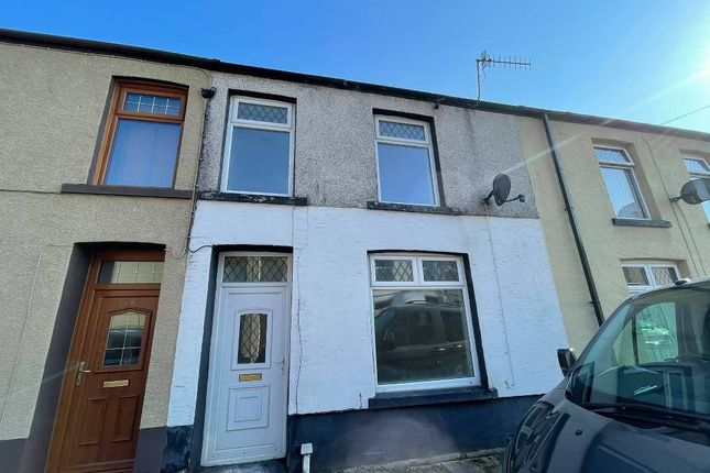3 bed terraced house to rent in Taff Street, Treherbert -, Treorchy CF42
