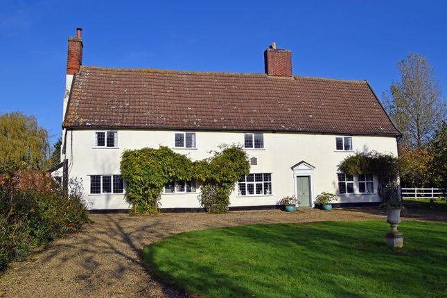 Thumbnail Farmhouse for sale in Mendlesham, Stowmarket, Suffolk