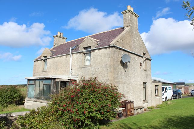 Thumbnail Detached house for sale in Hillside Road, Dounby, Orkney