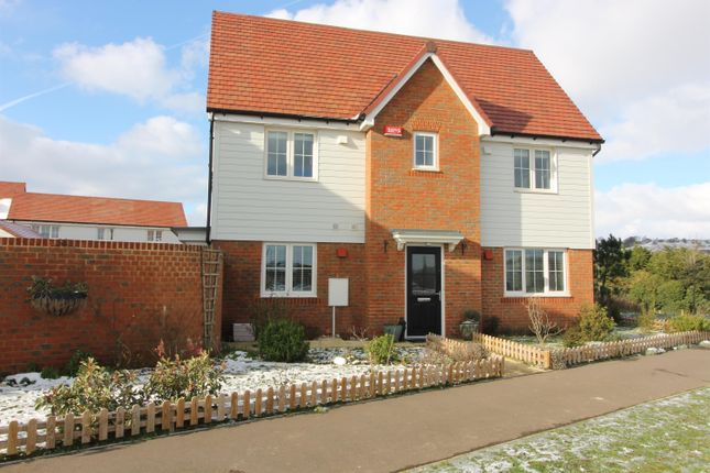 Thumbnail Semi-detached house for sale in Quarry Way, Martello Lakes, Hythe