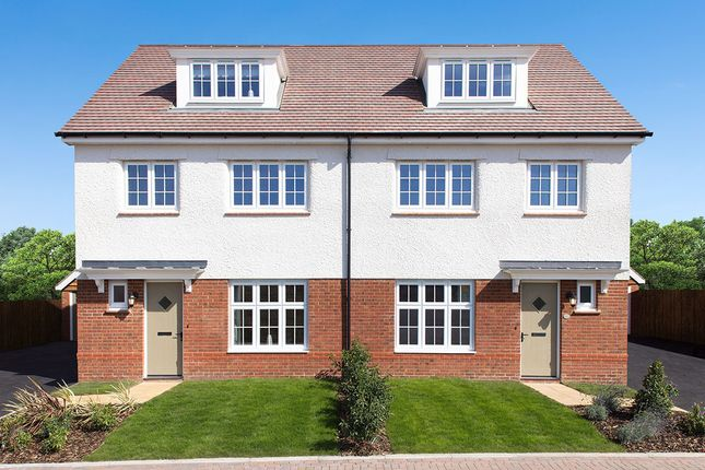 "Thumbnail Semi-detached house for sale in ""York"" at The Maltings, Llantarnam, Cwmbran"