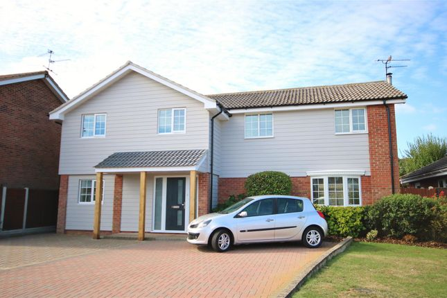 Thumbnail Detached house for sale in Hunt Way, Kirby Cross, Frinton-On-Sea