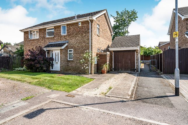 Thumbnail Detached house for sale in Witham Close, Bedford