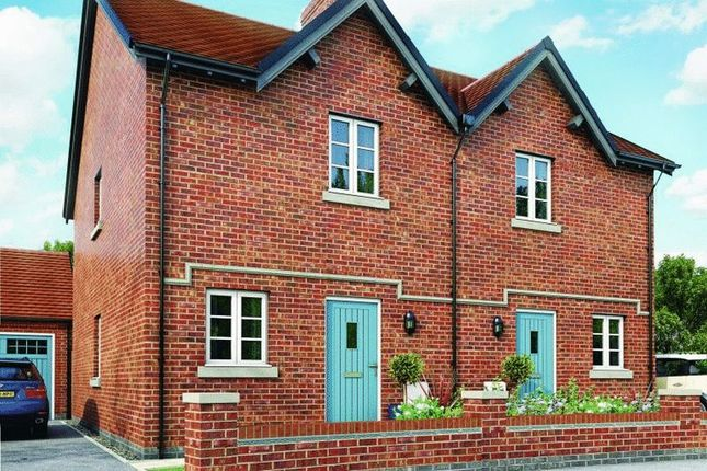 Thumbnail Semi-detached house for sale in Measham Road, Moira, Swadlincote