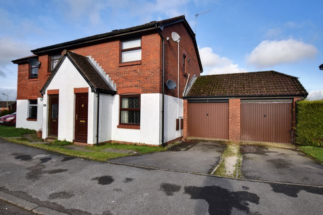 Thumbnail Semi-detached house for sale in Llyswen, Penpedairheol, Hengoed, Mid Glamorgan