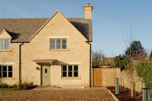 Thumbnail Semi-detached house for sale in Fosse Way, Stow On The Wold, Cheltenham, Gloucestershire