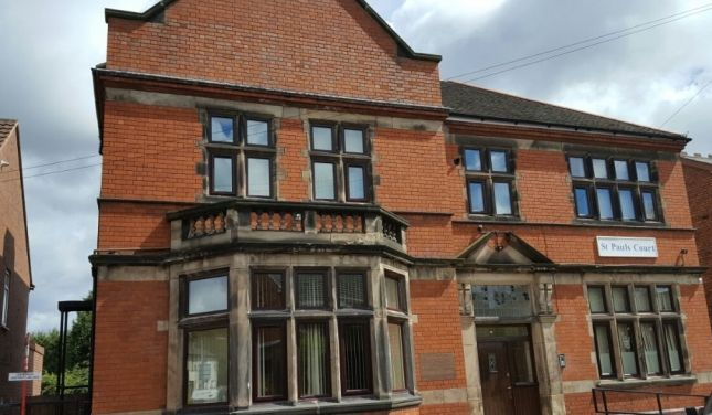 Thumbnail Flat to rent in St Paul's Court, Brunswick Park Road, Wednesbury, West-Midlands, 9F