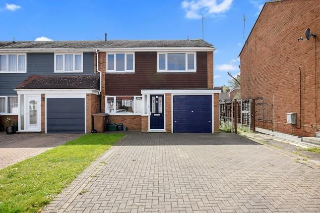 Thumbnail 4 bed end terrace house for sale in The Ridings, Chelmsford, Essex