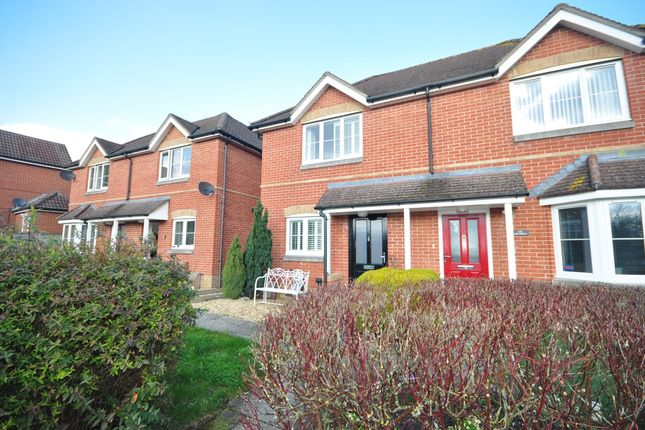 Thumbnail Semi-detached house to rent in Hambledon Road, Denmead, Waterlooville
