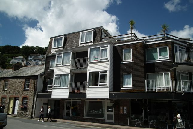 Thumbnail Flat for sale in The Quay, West Looe, Cornwall
