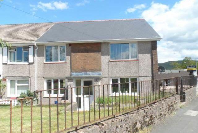 Thumbnail Flat to rent in Brynteg Terrace, Ebbw Vale