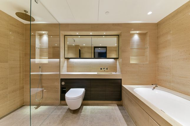 Bathroom of One Blackfriars, Blackfriars Road, Soutwark SE1