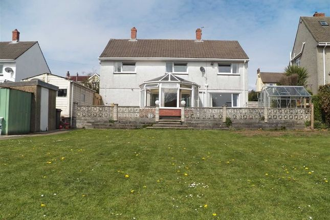 Thumbnail Detached house for sale in Cambridge Close, Langland, Swansea