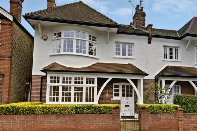 5 bed semi-detached house for sale in Ramillies Road, Chiswick, London W4