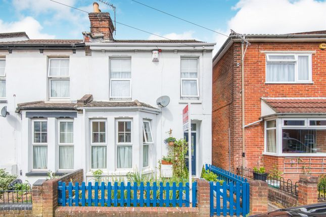 Thumbnail End terrace house for sale in Clarendon Road, Southampton