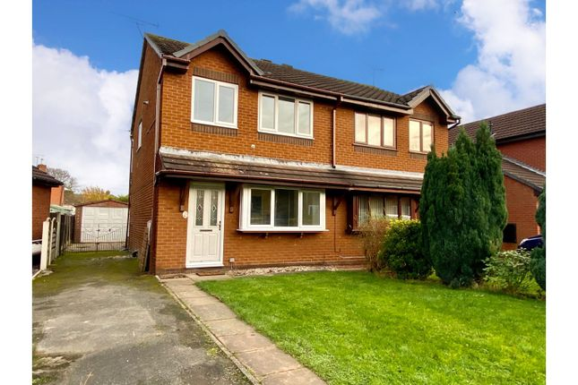 3 bed semi-detached house for sale in Whitemore Road, Middlewich CW10