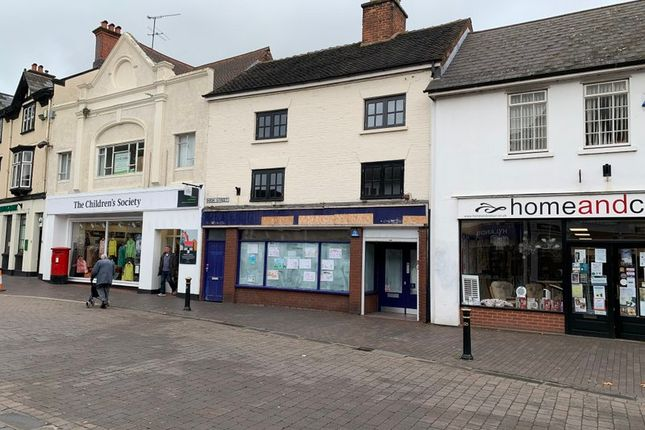 Thumbnail Retail premises to let in High Street, Stone