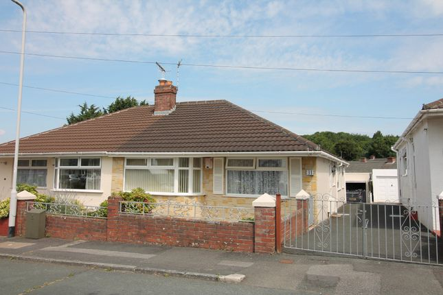 Thumbnail Semi-detached bungalow for sale in Woodford Crescent, Plympton, Plymouth