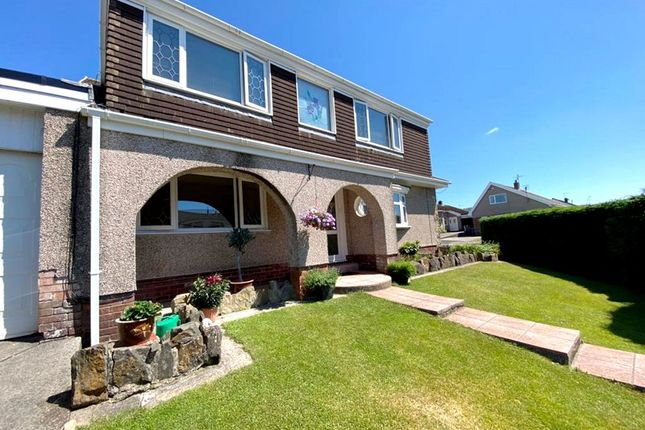 Thumbnail Detached house for sale in Furzeland Drive, Byncoch, Neath.