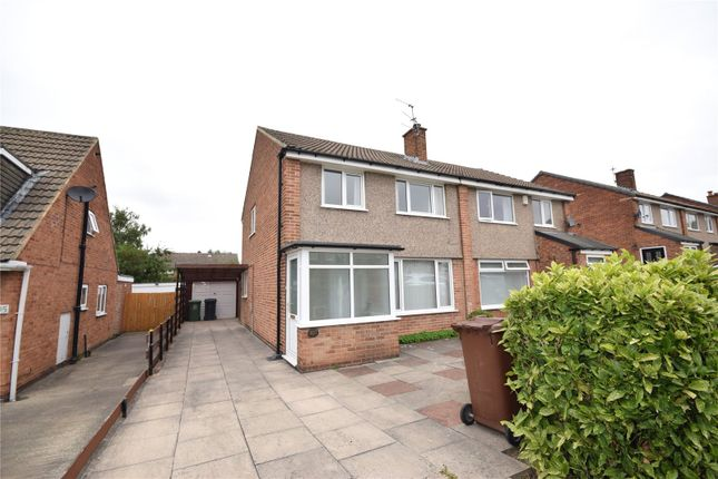 3 bed semi-detached house to rent in Fairburn Drive, Garforth, Leeds LS25