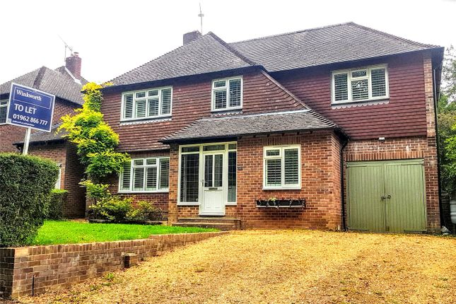 Thumbnail Detached house to rent in Kilham Lane, Winchester, Hampshire