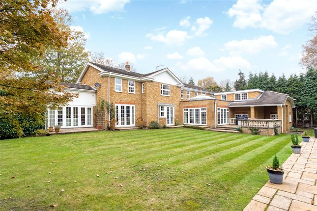 Thumbnail Detached house for sale in Ince Road, Burwood Park, Walton-On-Thames, Surrey