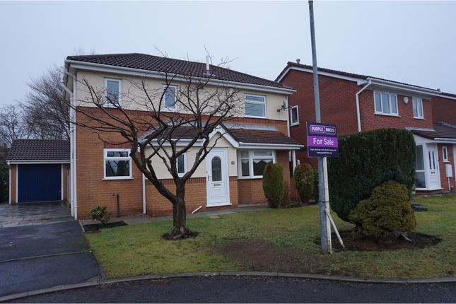 Thumbnail Detached house for sale in Gambleside Close, Manchester
