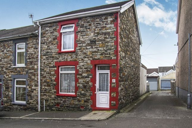 Thumbnail End terrace house for sale in Council Street, Penydarren, Merthyr Tydfil