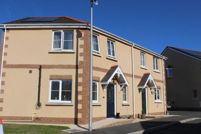 Thumbnail Semi-detached house for sale in Tirydderwen, Cross Hands, Llanelli