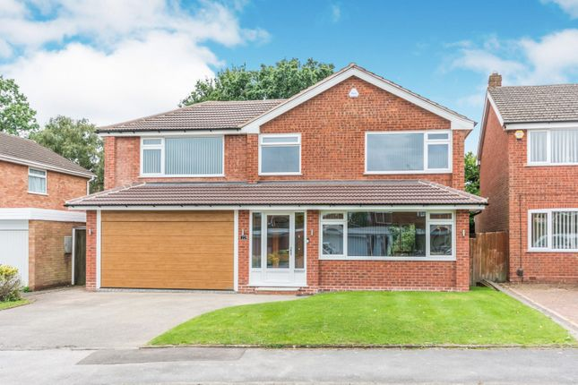 Thumbnail Detached house to rent in Fowgay Drive, Shirley, Solihull