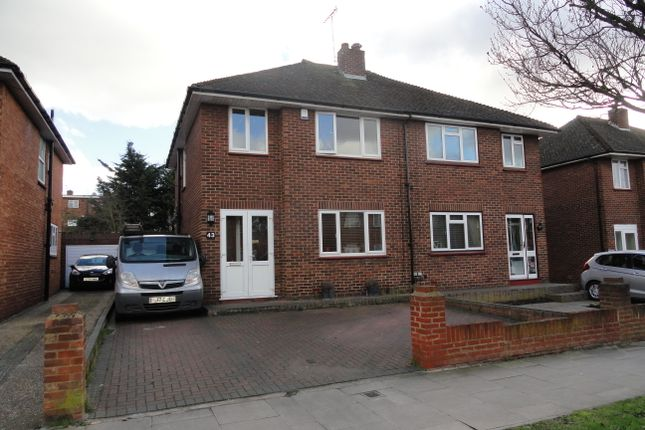 Thumbnail Semi-detached house for sale in Newdene Avenue, Northolt