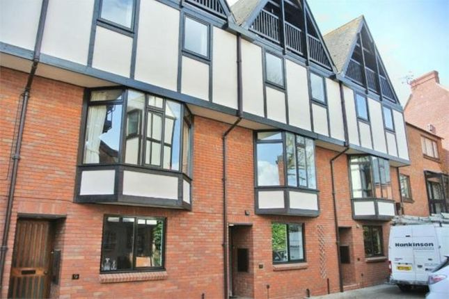 Thumbnail Town house to rent in Lysander Court, Ely Street, Stratford-Upon-Avon