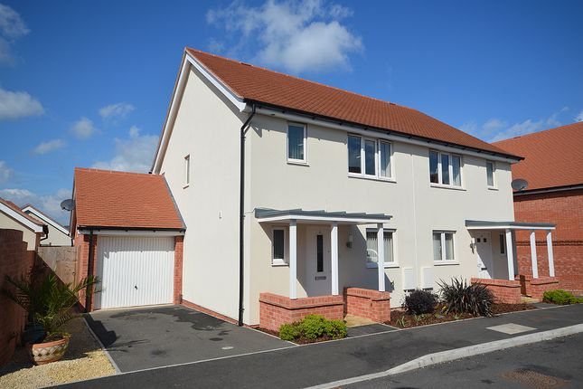 3 bed semi-detached house for sale in Pitt Park, Cranbrook, Near Exeter