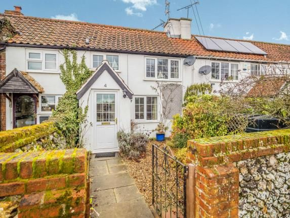 Thumbnail Terraced house for sale in The Street, Thurne, Great Yarmouth