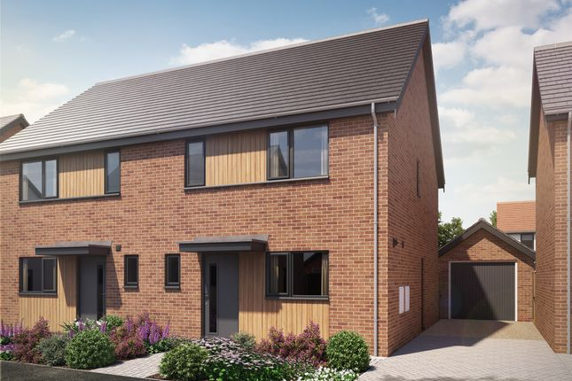 Thumbnail Semi-detached house for sale in Swans Nest, Brandon Road, Swaffham