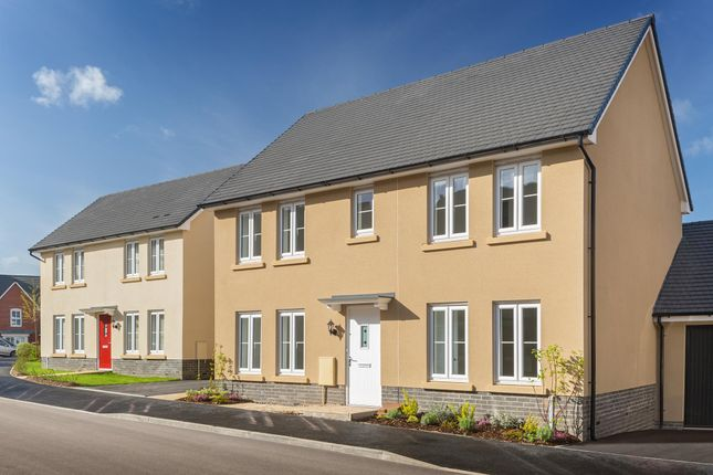 "Thumbnail Detached house for sale in ""Thornbury"" at Windsor Avenue, Newton Abbot"