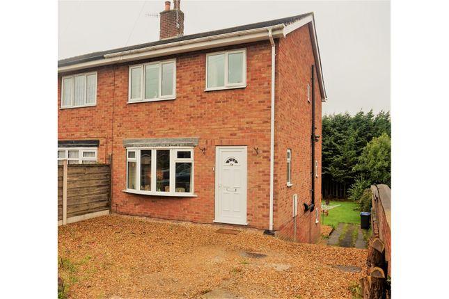 Thumbnail Semi-detached house for sale in Burton Street, Leek
