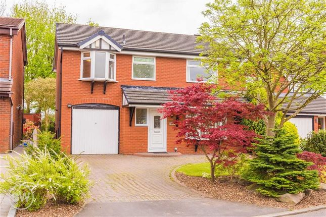 Thumbnail Detached house for sale in Birchwood Close, Leigh, Lancashire
