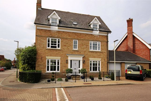 Thumbnail Detached house for sale in Skinners Street, St. Michael's Mead, Bishop's Stortford, Hertfordshire