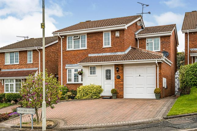 Thumbnail Detached house for sale in Wexford Close, Dudley