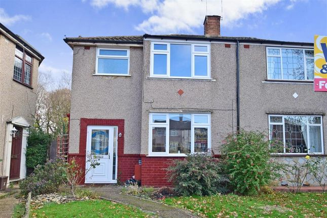 3 bed semi-detached house for sale in Spring Vale, Bexleyheath, Kent