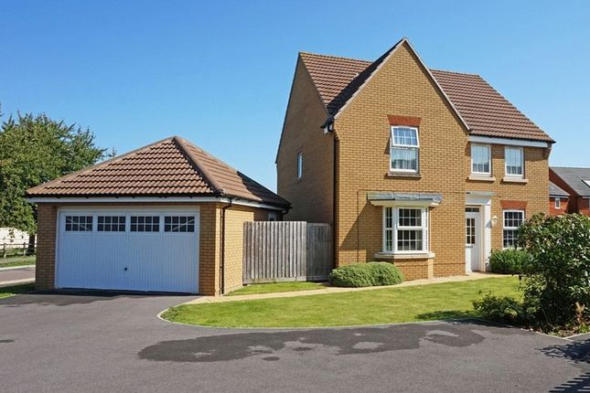 Thumbnail Detached house for sale in Hyde Lane, Creech St. Michael, Taunton