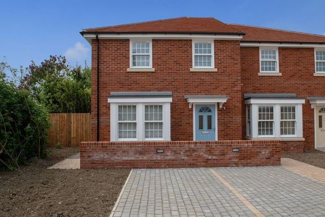 Thumbnail Semi-detached house for sale in White Hart Lane, Portchester, Fareham