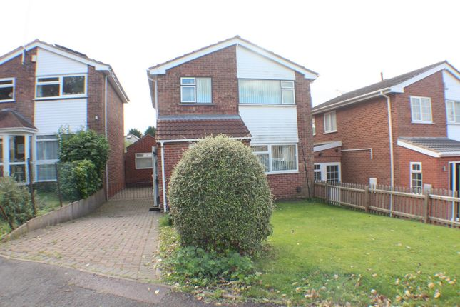 Thumbnail Detached house for sale in Colebrook Close, Leicester