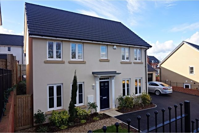 Thumbnail Detached house for sale in Clover Drive, Dawlish