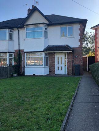 Thumbnail Semi-detached house to rent in Bromford Lane, Erdington, 4 Bedroom Semi-Detached Hmo Spec