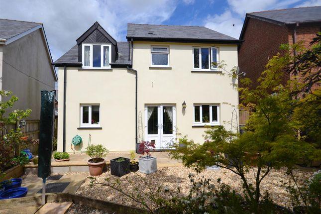Thumbnail Detached house for sale in Tudor Gardens, Merlins Bridge, Haverfordwest